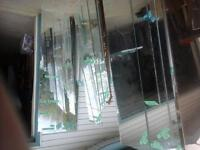 mirrors of all sizes. prices vary by size.
