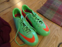 Nike Kids Football Boots, Good Condition (Worn Once) with Socks, Size 3
