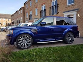 Range Rover Sport COSWORTH RS600 in Bali Blue