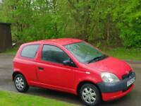 TOYOTA YARIS 1.0L T3 2002 15 SERVICES HPI CLEAR EXCELLENT CONDITION