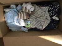 Boys clothes up to 1 month