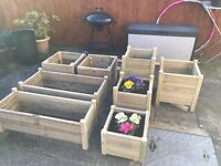 Garden planters. Various Prices Depending On Size. Starting at £15
