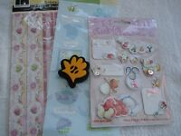 3 sheets of baby stickers 2 are 12 x 5 in 1 pack is 3D 1 foam baby hand stamp see pic