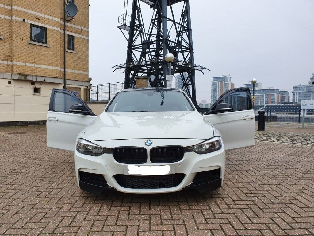 BMW 320d M sport White 4dr Auto F30 Stage 2 Remap 300bhp+ Quick Sale Not  330d M3 M4 S3 ONO | in Canning Town, London | Gumtree