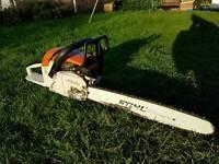 Stihl 028 avs wood boss chainsaw