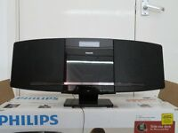 Phillips Compact Music System. Good condition. CD player, FM radio. Takes MP3, IPod/IPhone.