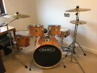 Mapex V Series Fusion Drum Kit with Wood Finish