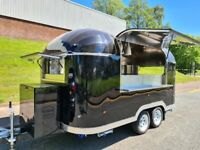 New Type Approved Airstream Mobile Catering Trailer Burger Pizza Bar Trailer 5th December