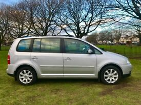 2005 VW TOURAN 2.0 TDI ** AUTOMATIC ** 98K ** CAMBELT REPLACED ** FULL S/H
