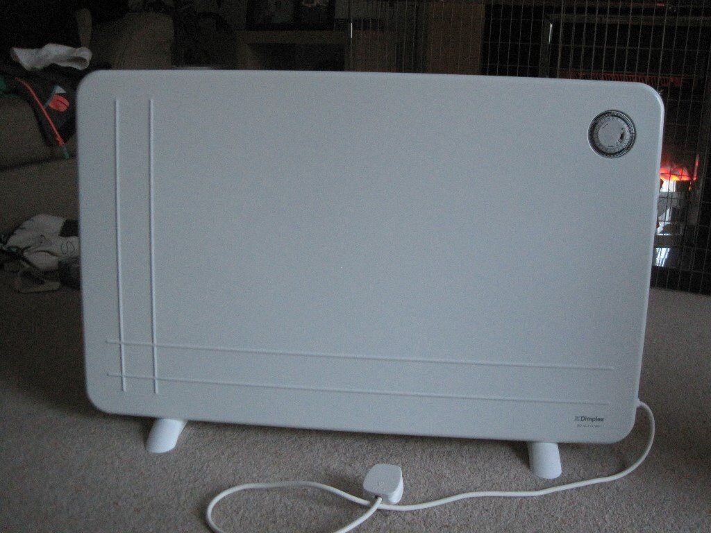 Low wattage panel heaters. Wall mounted or floor standing