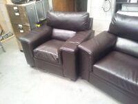 Fantastic Italian design leather suite