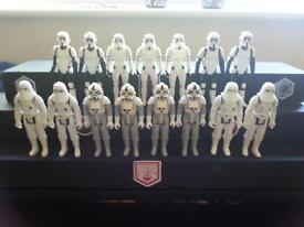 star wars vintage figures x 15