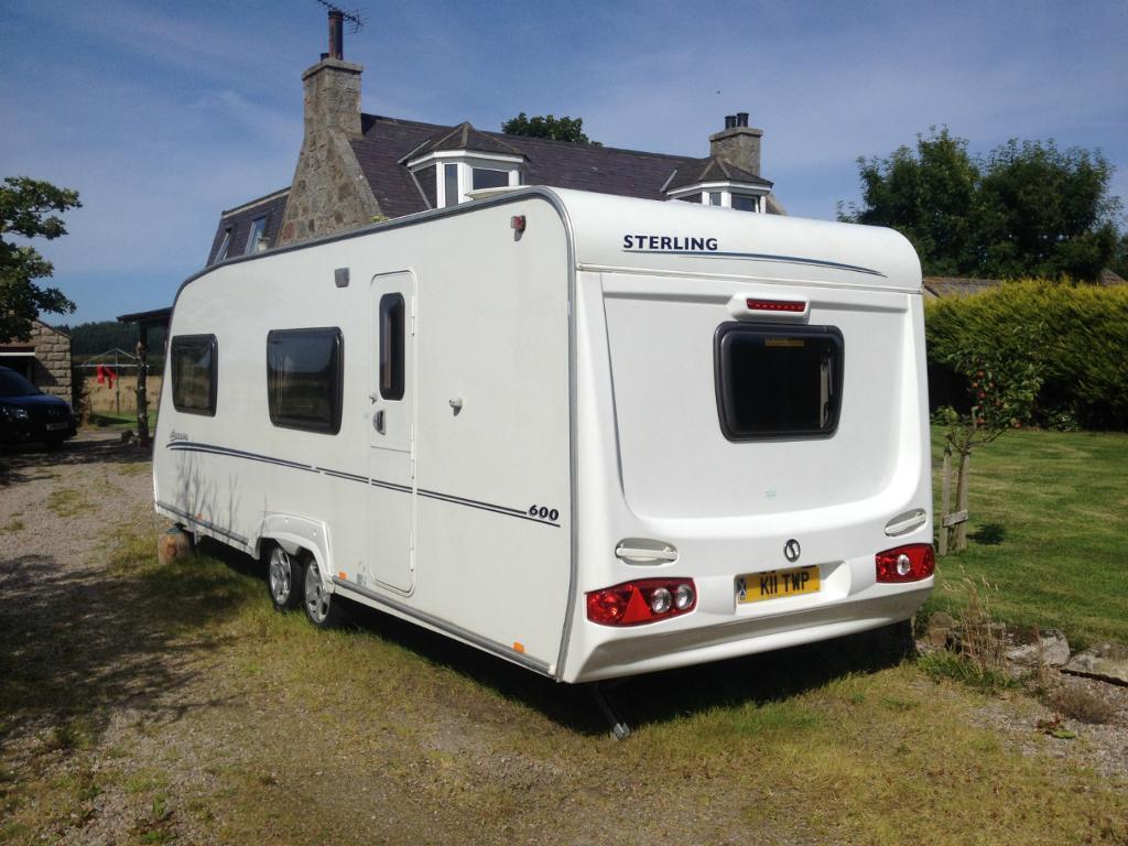 Fantastic Swift Corniche 132 Caravan For Sale Fife
