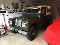 Rare Series 3 Land Rover British green 4x4 classic