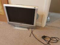 FREE* TV / PC Monitor NO REMOTE in built DVD *FREE
