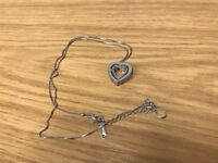 Necklace solid silver. Brand new in box.