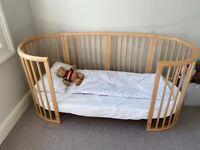 Stokke Sleepi Bed - Natural Wood