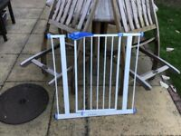Stair gate ideal for toddler security can be seen fitted £15.