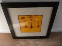Ikea framed print very good condition