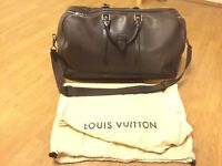 Authentic pre-owned Louis Vuitton Kendall GM Taiga Grizzly
