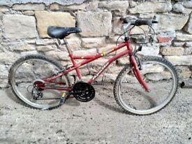 Boys bicycle.