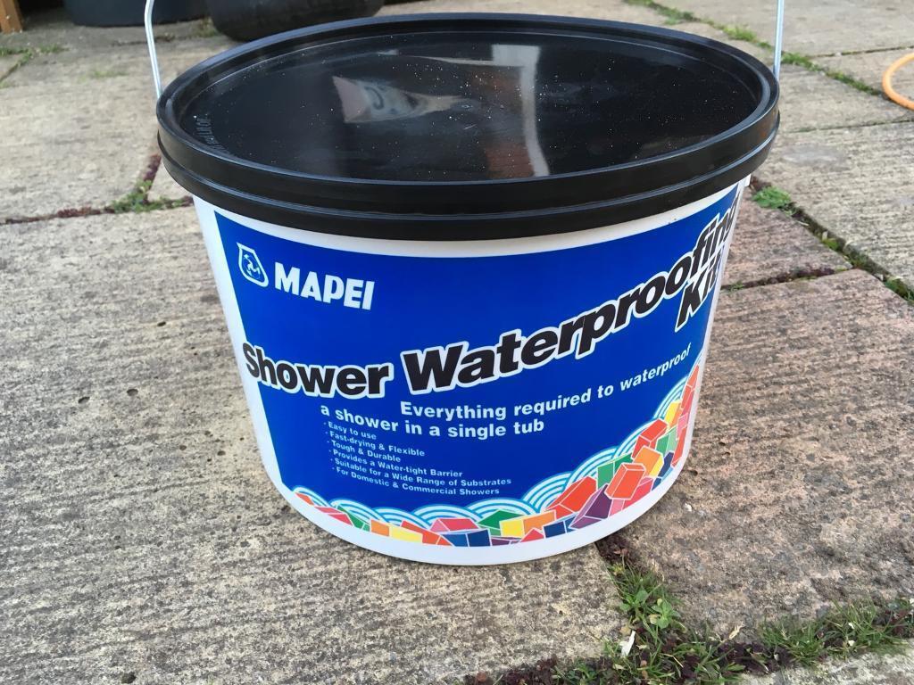 Shower waterproofing it