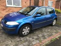 Renault Megane 1.5 dci spares or repair as no mot