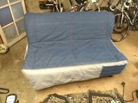 IKEA Lycksele Double Sofa Bed Denim