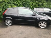 FORD FIESTA ZETEC CLIMATE, 1.4, PANTER BLACK 3 DOOR HATCH