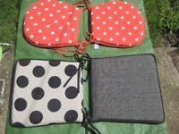 Two Sets of Garden Chair Cushions for £2.00 each set