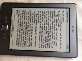Kindle rarely used and in mint condition