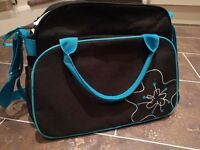 Baby Changing Bag by Badabulle....EXCELLENT CONDITION....STROLLER/PUSHCHAIR BAG....£30 NEW.