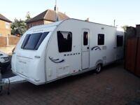 Fleetwood 2009 6 birth caravan