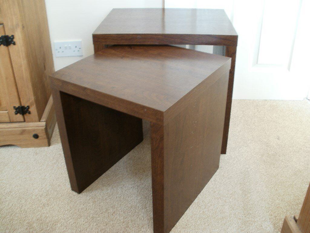 Nest Of Tables Side Next Opus Mango