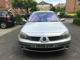 2006 RENAULT LAGUNA 1.9 DCI EXPRESSION 6 SPEED MANUAL DIESEL 4 DOORS SALOON WARRANTED MILES HPI CLEA