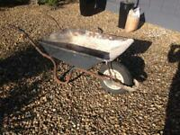 Wheel barrow builder diy garden