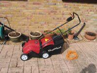 Mountfield Electric Lawn Scarifier