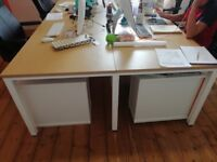 Office desks / Tables x 16 Very expensive when new, 18 months old - RRP £4,800