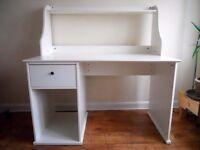 Hardly Used White Desk