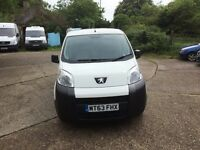 PEUGEOT BIPPER 2013.ONE OWNER.MOT 2018.NEW CLUTCH.READY FOR WORK