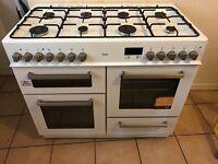 Range cooker duel fuel