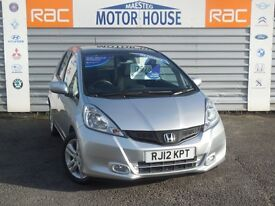Honda Jazz I-VTEC EX (ONLY 8300 MILES) FREE MOT'S AS LONG AS YOU OWN THE CAR!! (silver) 2012