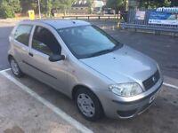 Fiat Punto Active 8V 1242cc Petrol 5 speed manual 3 door hatchback 54 plate 17/09/2004 Silver