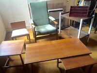 Various Furniture: Chair Tables