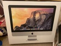Apple iMac i5 computer, 21.5 inch, 2014(mid), 8gb, 500mb