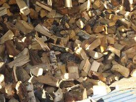 logs firewood mixed 50% hardwood 50% softwood seasoned kiln dried