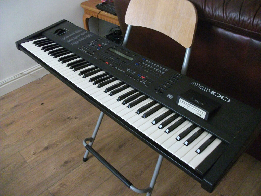 Solton Ms 100 Keyboard Arranger Very Rare In Excellent