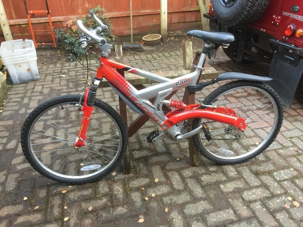 Saracen Raw (full suspension mountain bike), in very nice condition ...