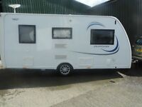 Touring caravan,bought new 2015, excellent condition only used one week, genuine reason for sale.