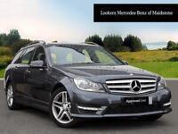 Mercedes-Benz C Class C250 CDI BLUEEFFICIENCY AMG SPORT (grey) 2013-05-24
